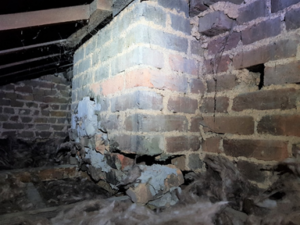 Beware of chimney breast removals